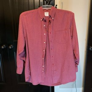 Brooks Brothers | Casual Button Down | L | Red